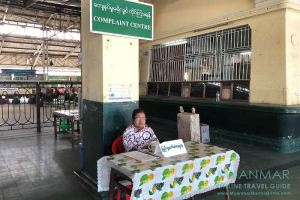Myanmar Reisetipps | Yangon | Hauptbahnhof