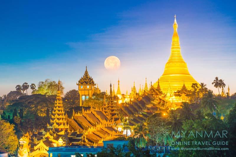 Myanmar Reisetipps | Yangon | View von der Moon Bar im Hotel Azumaya