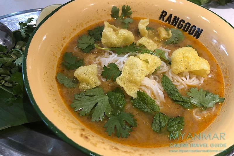 Myanmar Reisetipps | Yangon | Mohinga im Rangoon Tea House