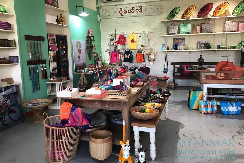 Myanmar Reisetipps | Yangon | Shop Pomelo