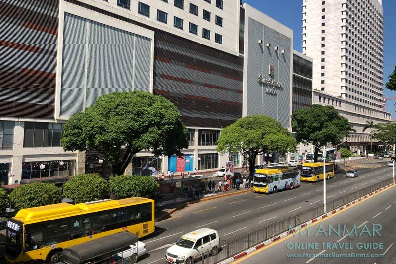 Myanmar Reisetipps | Yangon | Sule Square Mall