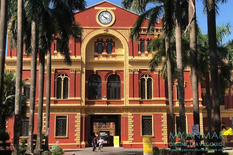 Myanmar Reisetipps | Yangon | The Secretariat: Ostflügel