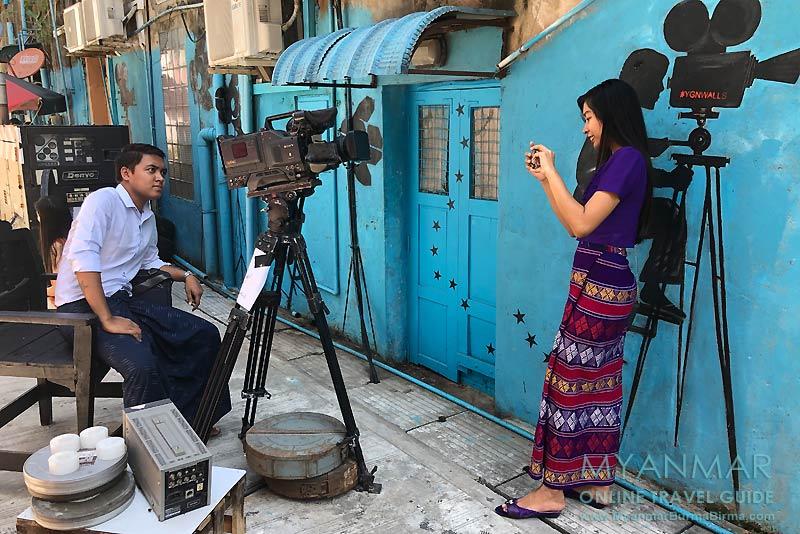 Myanmar Reisetipps | Yangon | Waziya Cinema Street
