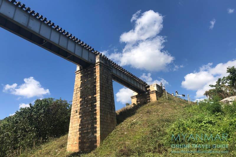 Myanmar Reisetipps | Bahnfahrt vom Inle-See nach Kalaw