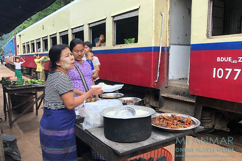 Myanmar Reisetipps | Bahnfahrt von Thazi nach Kalaw