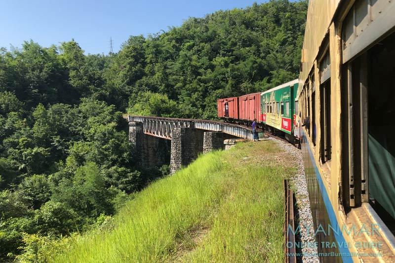 Myanmar Reisetipps | Mit der Bahn von Thazi nach Kalaw