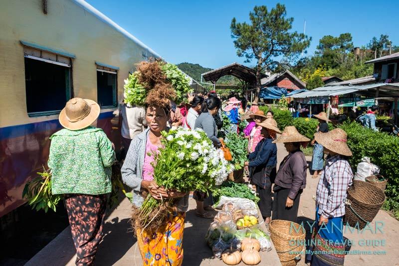 Tipps für die Zugfahrt von Thazi und Kalaw in Myanmar