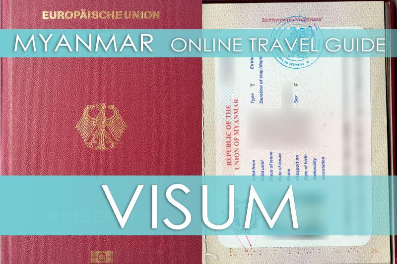 Tipps für die Beschaffung vom Myanmar-Visum in der Botschaft