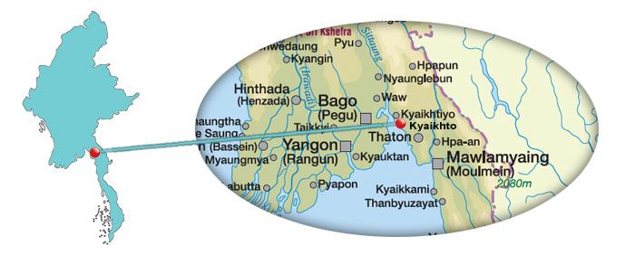 Myanmar Reisetipps | Kyaikhto