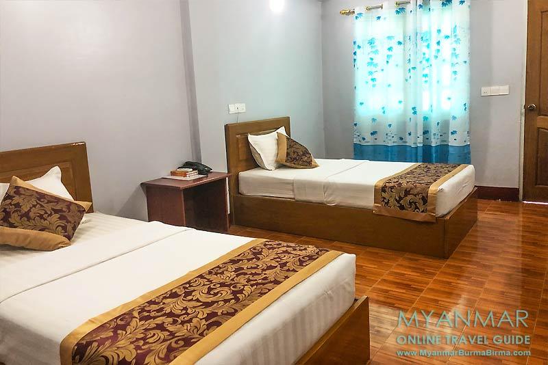 Myanmar Reisetipps | Kyaikhto | Superior-Zimmer im Hotel Golden Bliss
