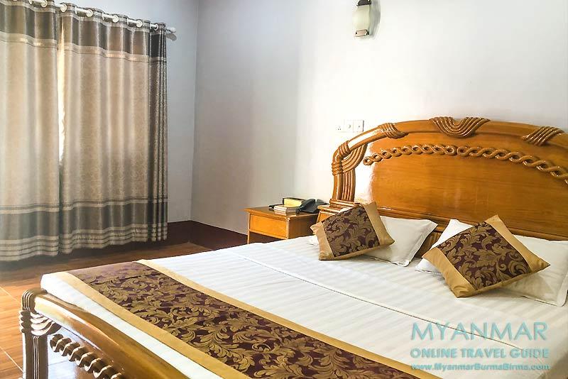 Myanmar Reisetipps | Kyaikhto | Deluxe-Zimmer im Hotel Golden Bliss
