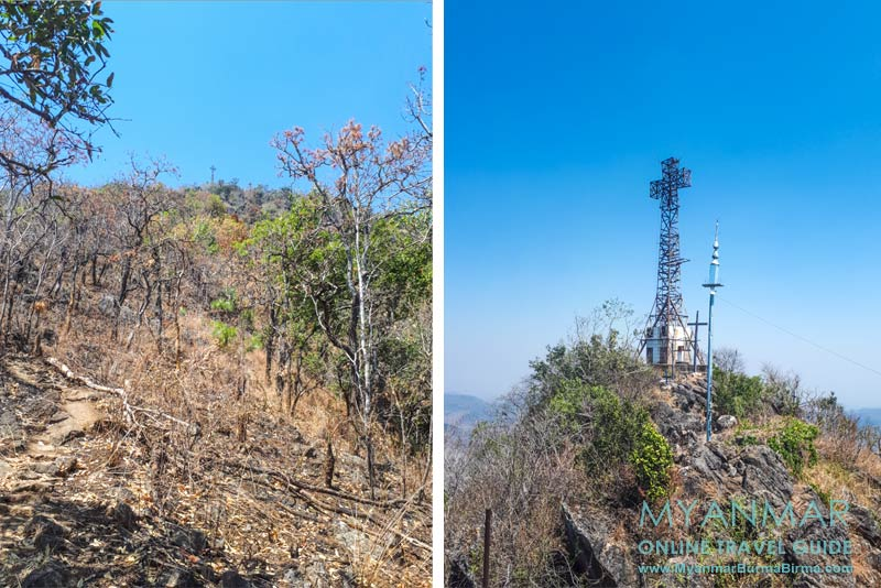 Myanmar Reisetipps | Loikaw | Mt. Loi Nan Pha gehört zu den höchsten Bergen in der Region