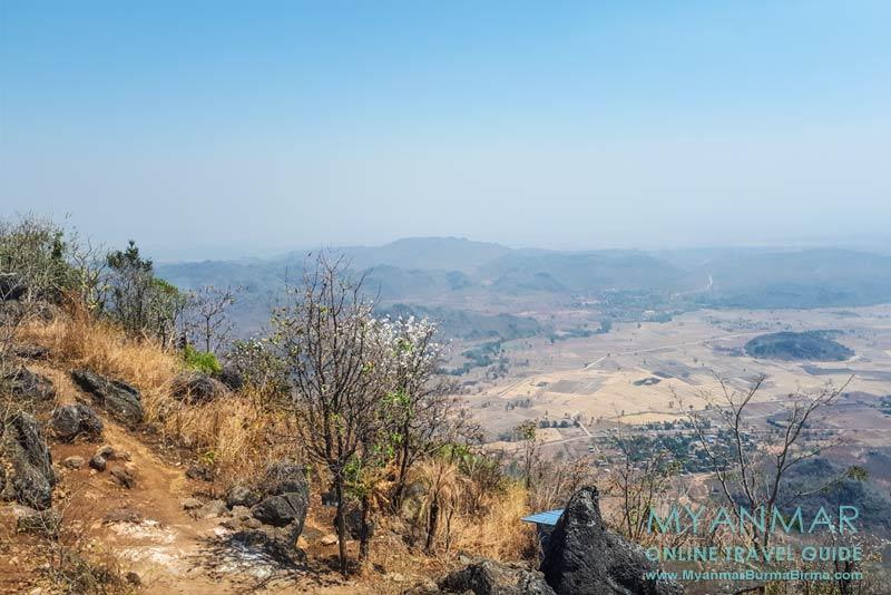 Myanmar Reisetipps | Loikaw | Aussicht vom Berg Loi Nan Pha