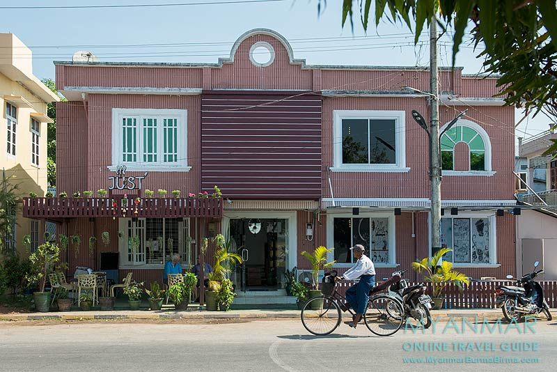 Myanmar Reisetipps | Mawlamyaing (Mawlamyine) | Just - Coffee & Bakery House (ehemals Delifrance)