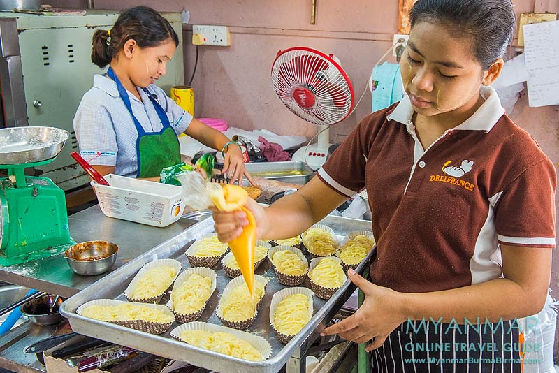 Myanmar Reisetipps | Mawlamyaing (Mawlamyine) | Just - Coffee & Bakery (ehemals Delifrance)