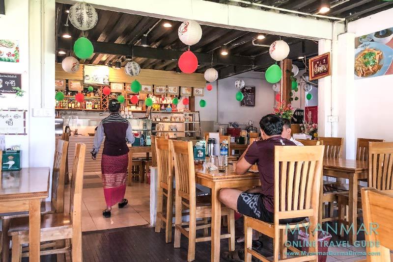 Myanmar Reisetipps | Mawlamyaing (Mawlamyine) | Myanmar Tea & Thai Food Centre