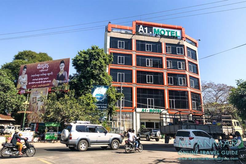 Myanmar Reisetipps | Meiktila | A 1 - Motel an der Main Road