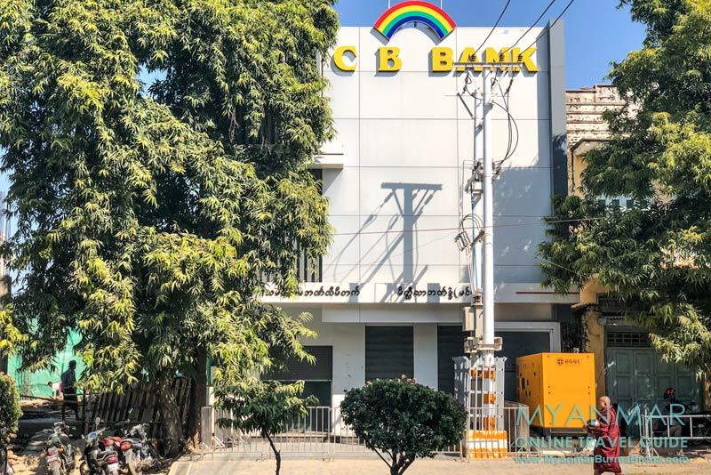Myanmar Reisetipps | Meiktila | Geldtauschen in der CB Bank