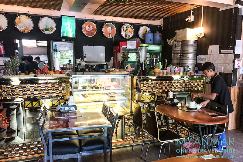 Myanmar Reisetipps | Meiktila | Champion Café & Hot Pot House an der Main Road