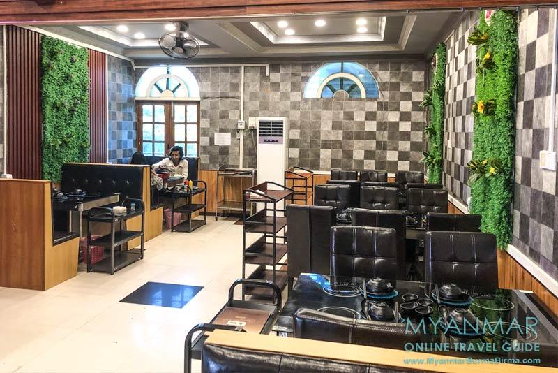 Myanmar Reisetipps | Meiktila | 3. Obergeschoss vom Champion Café & Hot Pot House an der Main Road