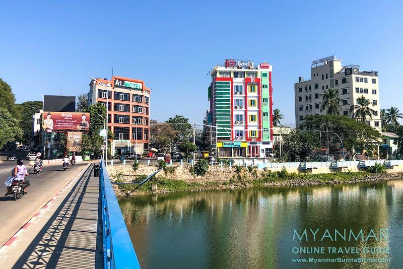 Myanmar Reisetipps | Meiktila | Drei Hotels am Meiktila-See