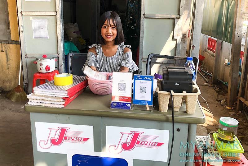 Myanmar Reisetipps | Meiktila | Ticketoffice von JJ Express