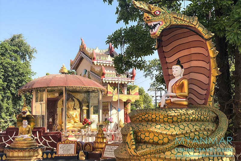 Myanmar Reisetipps | Meiktila | Nagayon-Mahabodhi-Pagode