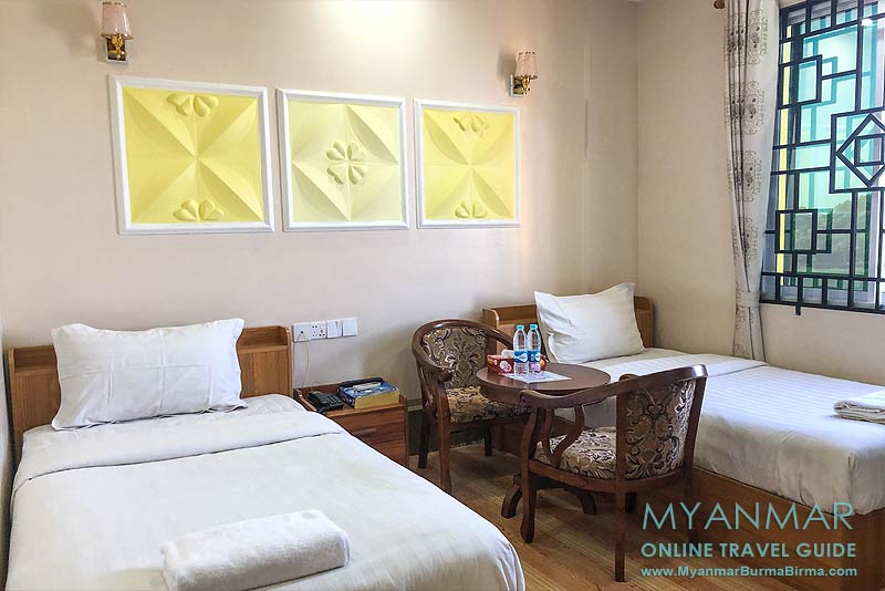 Myanmar Reisetipps | Meiktila | Twin-Zimmer im Shadow Motel