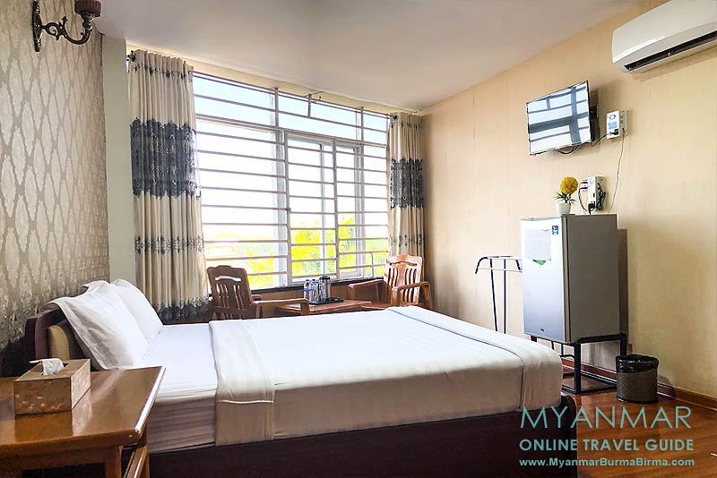 Myanmar Reisetipps | Meiktila | Doppelzimmer im A 1 - Motel