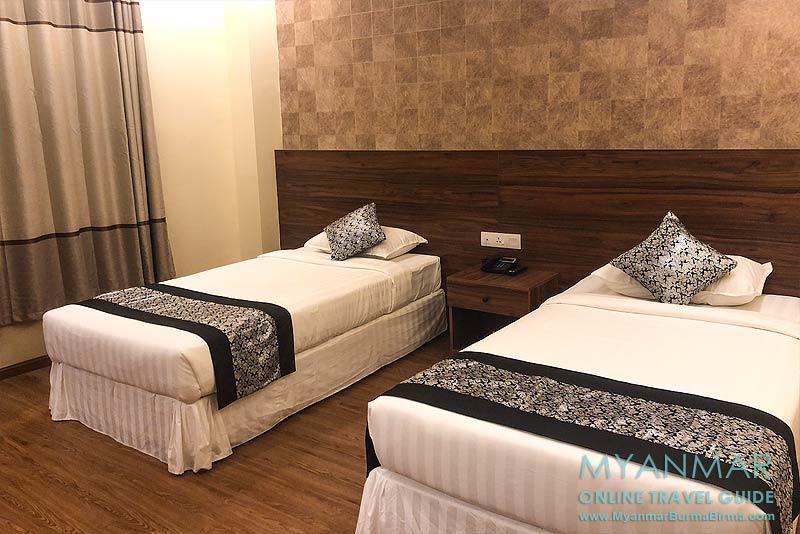 Myanmar Reisetipps | Meiktila | Deluxe-Zimmer im Hotel Shwe Ohn Pin