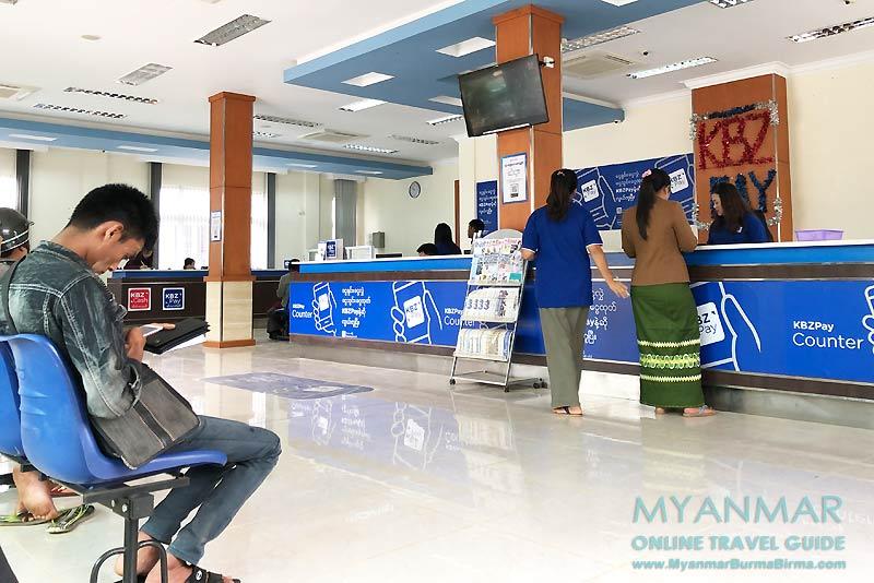 Myanmar Reisetipps | Pinlaung | KBZ Bank