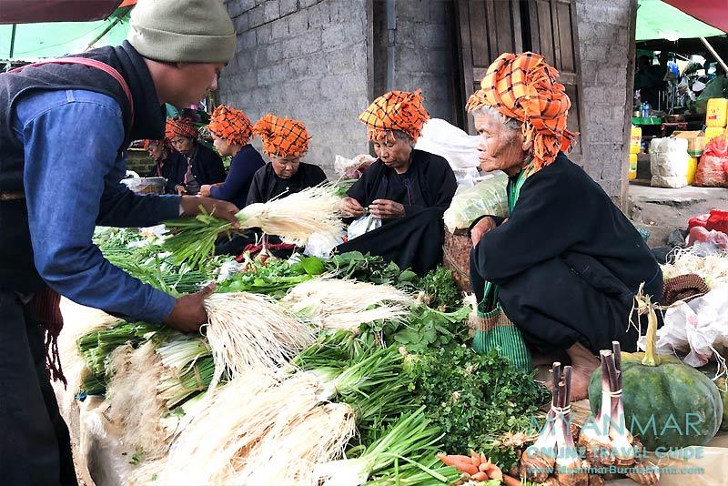 Myanmar Reisetipps | Pinlaung | 5-Tage-Markt