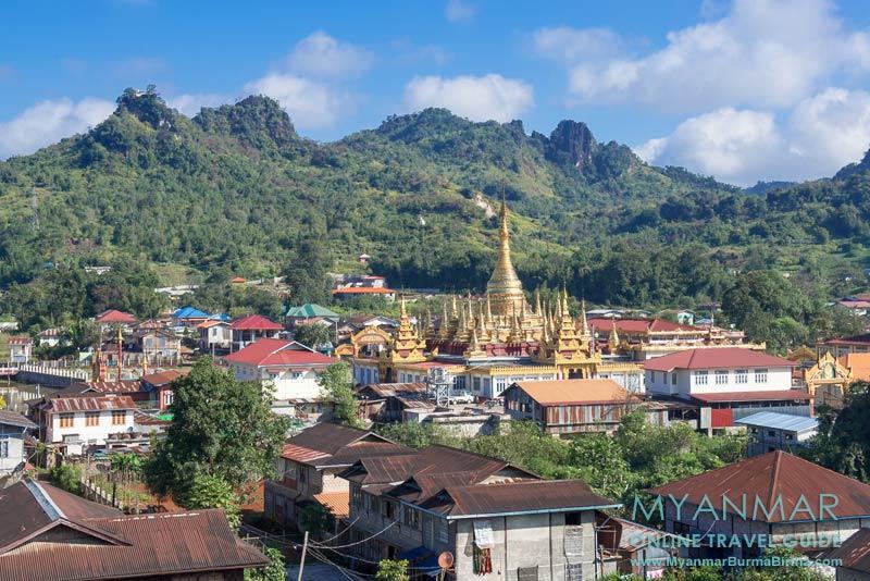Myanmar Reisetipps | Pinlaung | Mway-Daw-Pagode