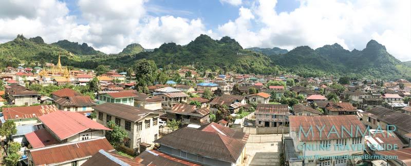 Myanmar Reisetipps | Pinlaung | Ostseite des Ortes