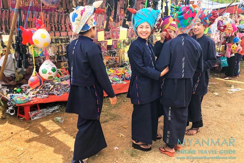 Myanmar Reisetipps | Pinlaung | Pa-O-Fest im Dorf Yin Mee