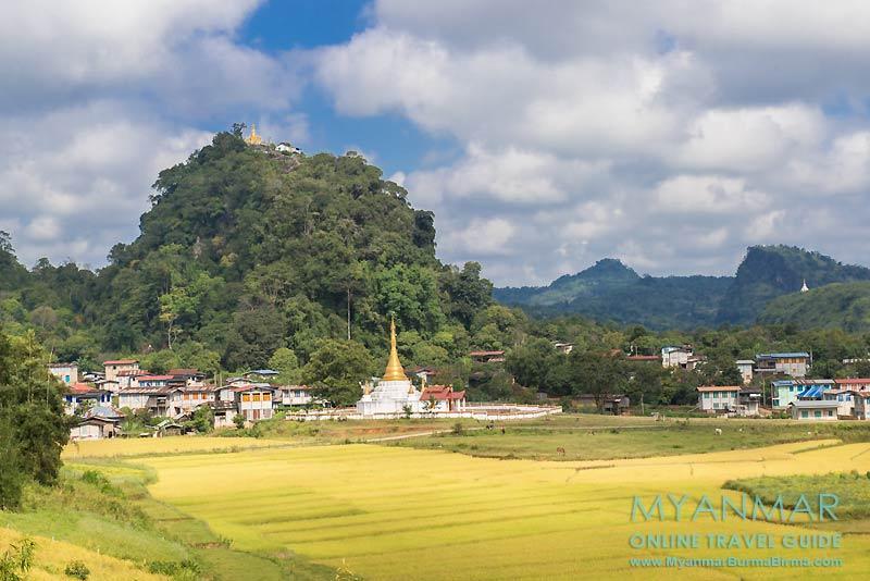 Myanmar Reisetipps | Pinlaung | Anfahrt zur Lone-Naga-Pat-Pagode