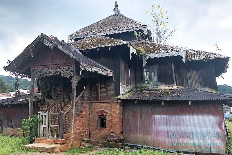 Myanmar Reisetipps | Pinlaung | Über 100 Jahre alter Shan-Palast (Haw Sao Pha)