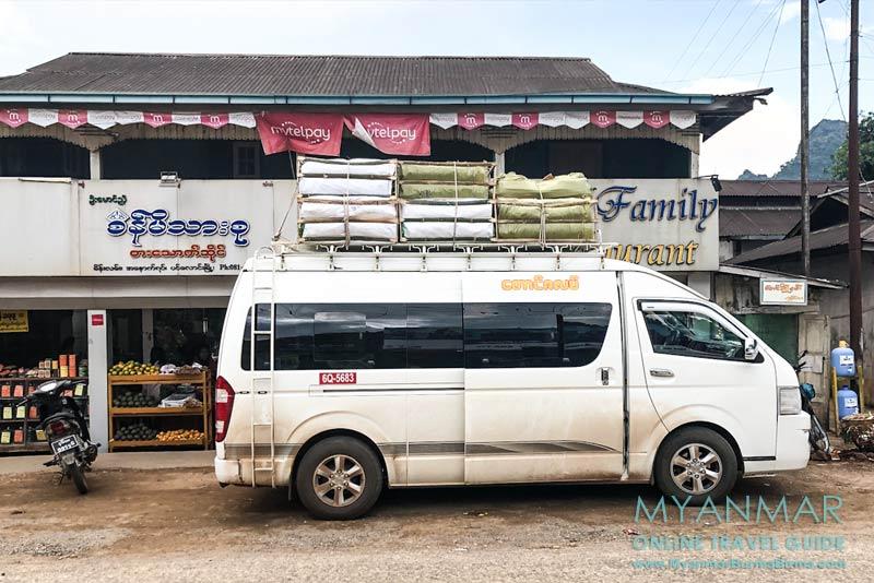 Myanmar Reisetipps | Pinlaung | Van der Taung Za Lat Company