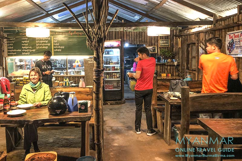Myanmar Reisetipps | Thandaunggyi | Restaurant Amazing Kayin Food