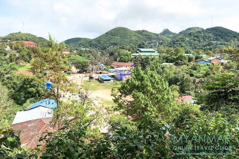 Myanmar Reisetipps | Thandaunggyi | Dorfplatz