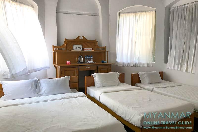 Myanmar Reisetipps | Thandaunggyi | Familienzimmer in der Kolonialvilla im I Wish Bed & Breakfast