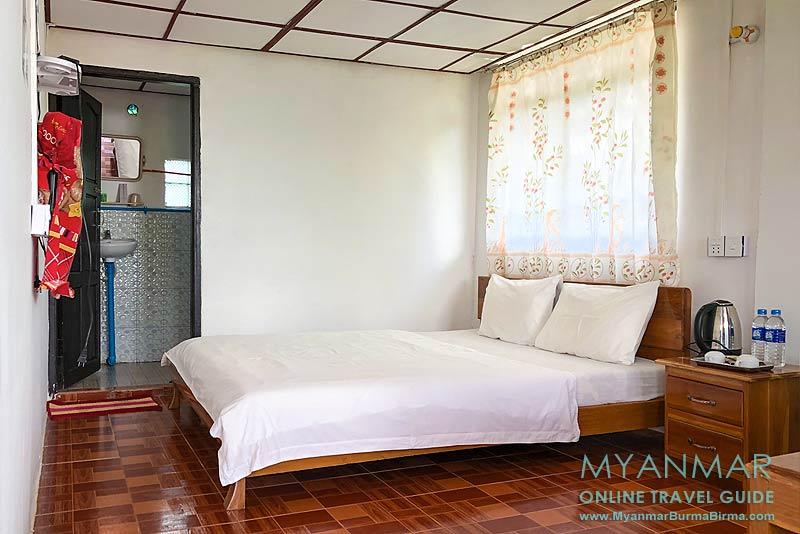 Myanmar Reisetipps | Thandaunggyi | Doppelzimmer im Neubau vom I Wish Bed & Breakfast