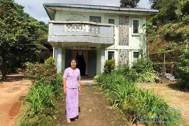 Myanmar Reisetipps | Thandaunggyi | Mrs. Naw Sonia Kaing von Kaing's Villa Bed & Breakfast