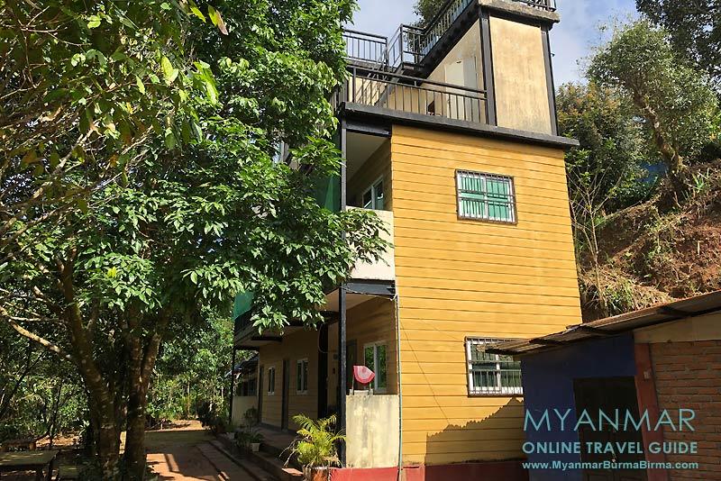 Myanmar Reisetipps | Thandaunggyi | Neubau von Kaing's Villa Bed & Breakfast
