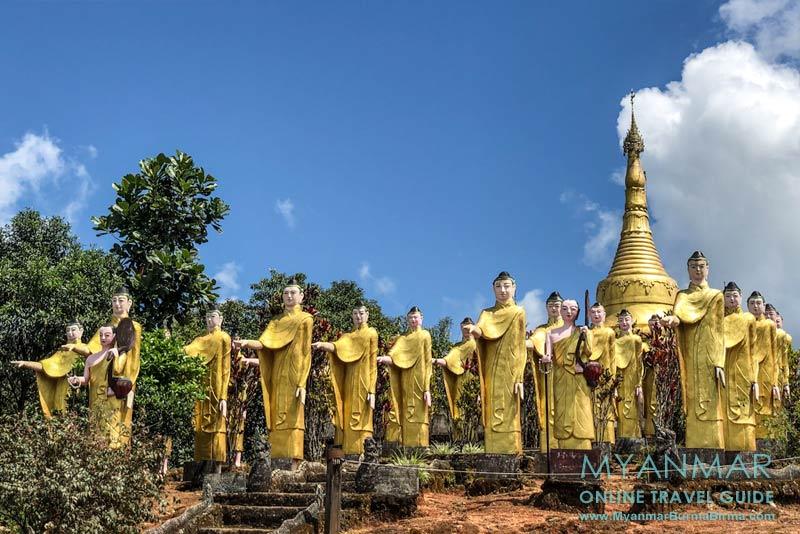 Myanmar Reisetipps | Thandaunggyi | Pagode Pyay Aye Taw