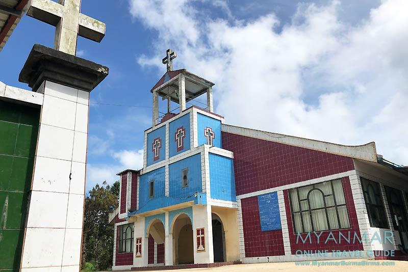 Myanmar Reisetipps | Thandaunggyi | St. George's Church