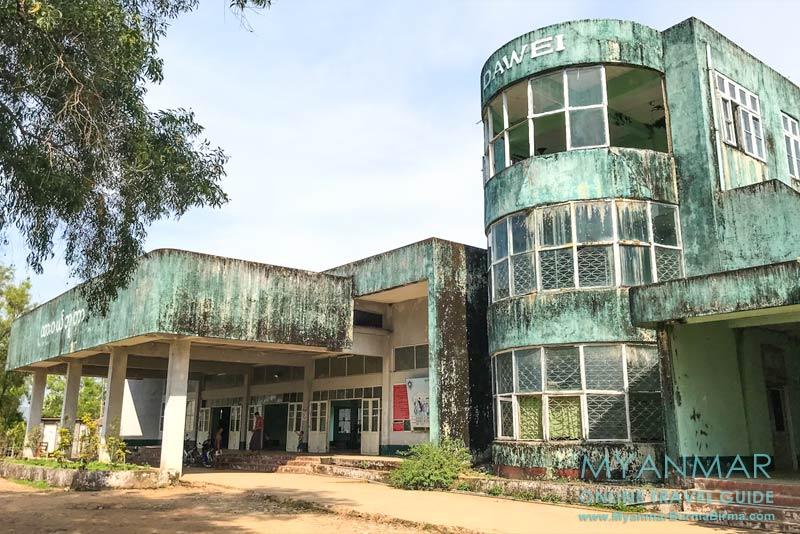 Myanmar Reisetipps   Dawei   Morbider Charme vom Bahnhof Dawei