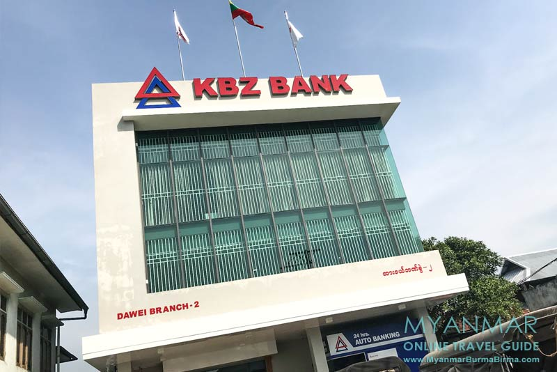 Myanmar Reisetipps   Dawei   KBZ Bank