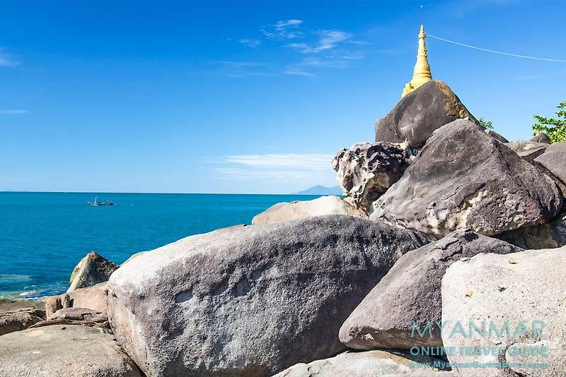 Myanmar Reisetipps | Dawei Peninsula | Myaw-Yit-Pagode in der Andamanensee
