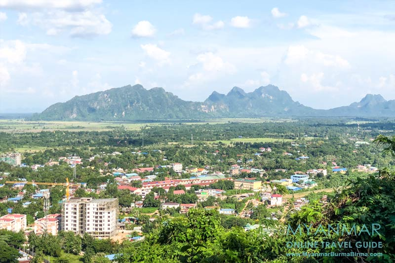 Myanmar Reisetipps | Hpa-an | Ausblick vom Berg Kyar Inn